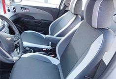 Чехлы на автомобильные сидения Шевроле Авео