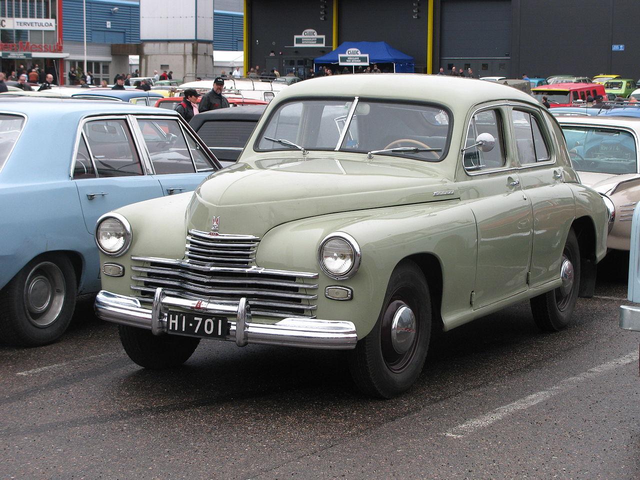 ГАЗ-М20 «Победа» — советская легенда