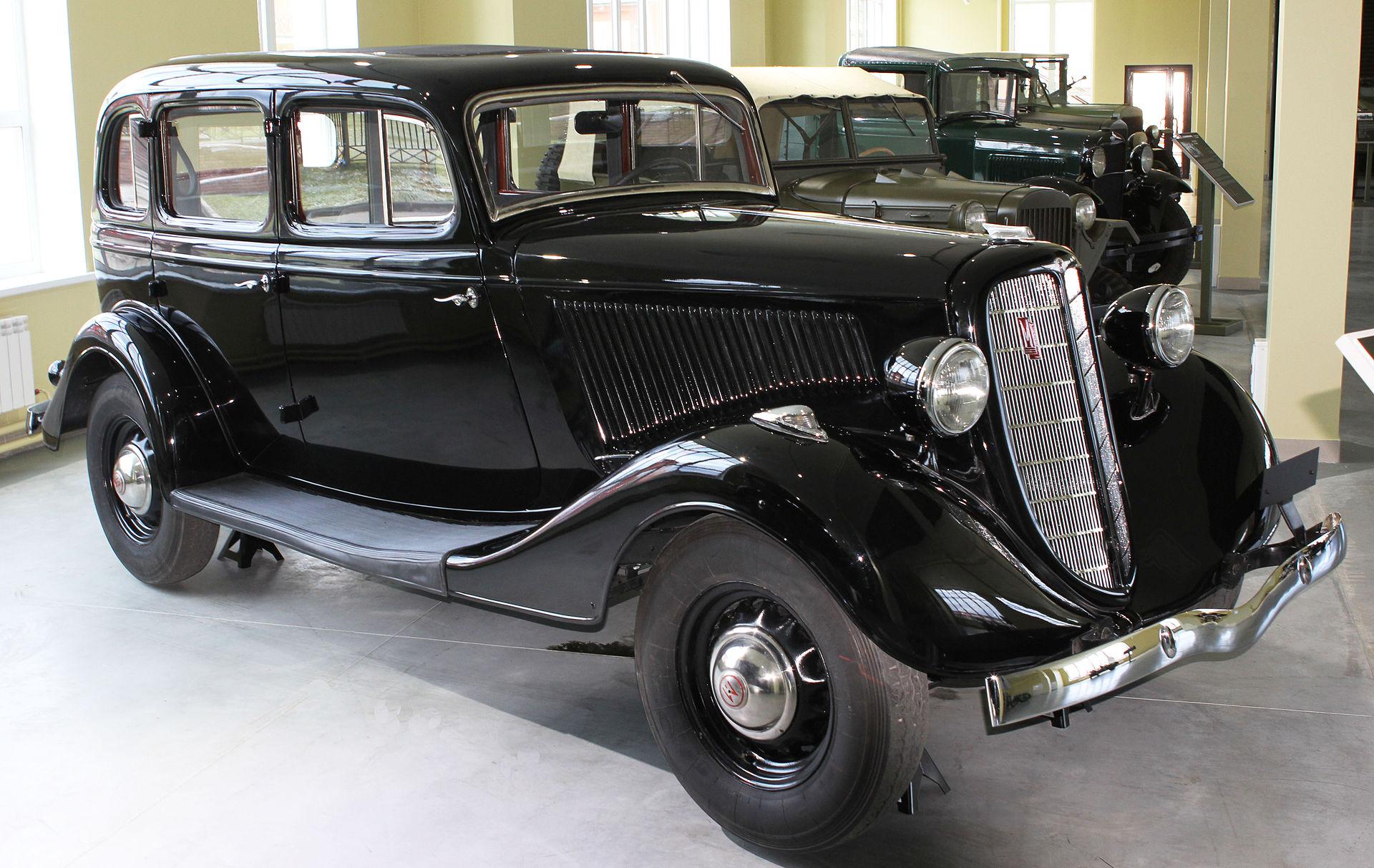 ГАЗ М-1: история и особенности