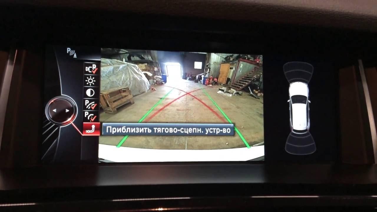 Камера заднего вида на BMW X3 F25: установка, соединение с монитором и навигацией