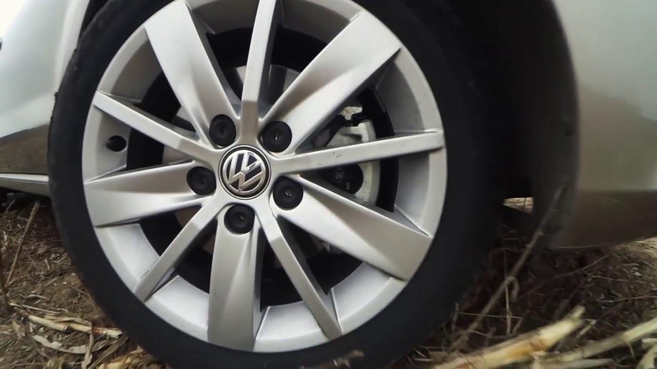 Какие колёсные диски подходят для Volkswagen Polo 2012 1.6i