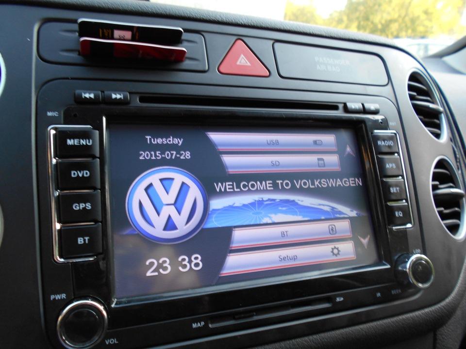 Автомагнитолы Volkswagen – умное решение штатных проблем